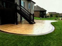 llp cement concrete patio shapes ideas designs unique design regular with regard to size 1289 x