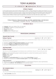 Software Developer Resume Samples Software Engineer Resume A 10 Step 2019 Guide With 20 Samples