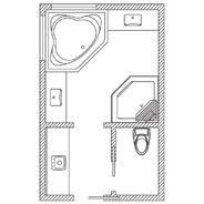 bathroom floor plans. Fine Floor Throughout Bathroom Floor Plans F