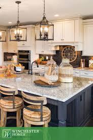 inspiring design chandelier over kitchen island 28