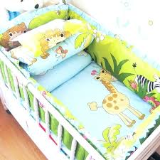 per and quilt sets for cots new arrival zoo pattern children bedding set comfortable baby crib 7 piece boy baby bedding set animals