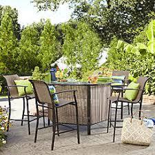 patio bar. Wonderful Patio Outdoor Bar Set Limited Availability On Patio Sears