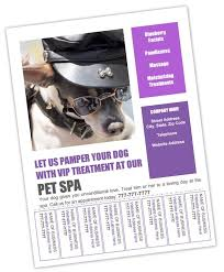 Flyer With Phone Number Tabs Dog Grooming Flyer Templates Bundle 8 Dog Grooming Dog