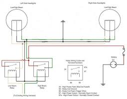 anyone use powermaster alternator? for a bodies only mopar forum Powermaster Alternator Wiring Diagram you should be able to use the one provided and just seperate the wires since one relay controls the low beams and one relay controls the high beam anyway powermaster alternator wiring diagram ford