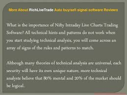 Live Charting Software Rich Live Trade Auto Buy Sell Signal Software Reviews