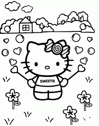 Small Picture Hello Kitty Coloring Pages To Print Printables Pinterest Coloring