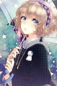 anime blonde hair green eyes tìm với google