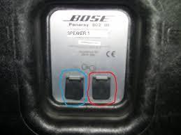 bose 802. bose 802 iii loudspeaker package question. b