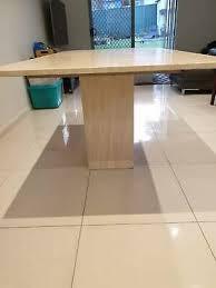 travertine stone dining table dining