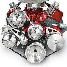 March Performance Chevy Small Block Serpentine Conversion Kits 22072