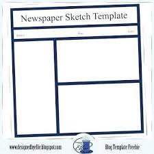 Newspaper Template For Docs Newspaper Template Google Docs Easytemplate Ga