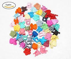 Buy Fok 5 Pairs Baby Plastic Multi Color & Fancy Hair <b>Clutchers</b> ...