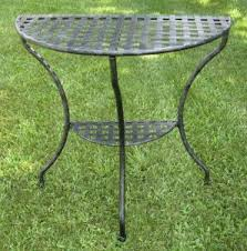 vintage wrought iron patio furniture black wrought iron patio