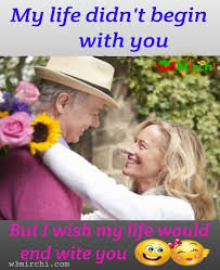 old man and woman romantic images