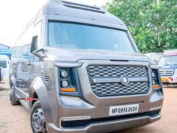force tempo traveller modified into a