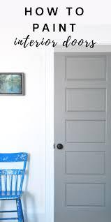 gray interior doors how to paint your interior doors gray