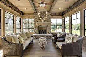 ... First Class Sunroom With Fireplace 19 View Full Size ...