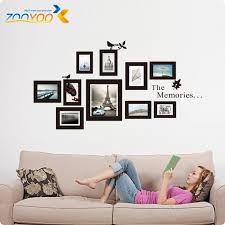 vinyl wall art picture frames