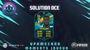 Solution DCE Dayo Upamecano Moments joueur la moins chère possible sur FIFA  20 - Dexerto.fr