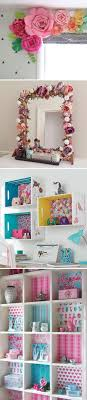 awesome diy projects to decorate a girl s bedroom
