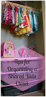 Kids Bedroom Organization 7 Tips For Organizing A Shared Closet For Kids Ask Anna