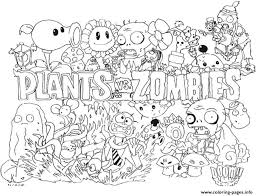 Small Picture 2 Plants Vs Zombies Coloring Pages Printable