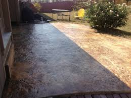 stained concrete patio before and after. Stained Concrete Patio Before And After