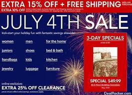 Macy s July 4th Sale