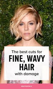 the best cuts for fine wavy damaged hair according to celebrity hairstylist bill angst