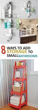 Diy Bathroom Best 10 Bathroom Storage Diy Ideas On Pinterest Diy Bathroom