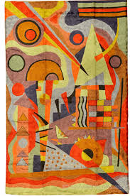 kandinsky modern rugs abstract wall hangings accent rug