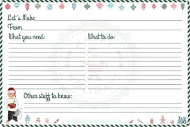 Christmas Recipe Cards Template Free Printable Recipe Cards For Christmas Pastry Chef Online