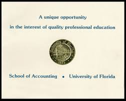 Commemorative Gallery Of Accounting History Uf
