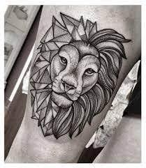 Tetování Lva Na Rameno Tetování Motivy Zvířat