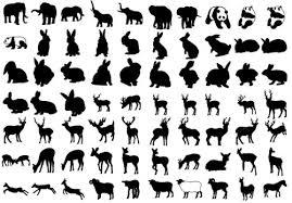 Amazon 商用okアニマルシルエット300種類以上の動物のシルエット