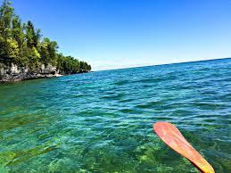 Kayaking Lake Michigan Caves In Wisconsin's Door County - The ...