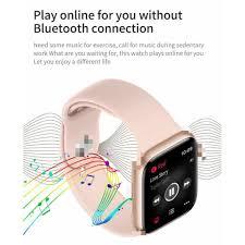 Đồng hồ đeo tay, Đồng hồ thông minh T500 đo nhịp tim kết nối bluetooth,  hàng chuẩn sạc pin nhanh chính hãng 299,000đ