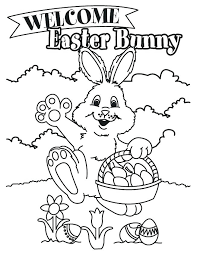 Printable Easter Coloring Pages Free Printable Coloring Sheets For ...