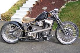 blair custom choppers twisted bobber