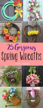 25 Cheery Spring Wreaths