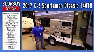 2017 kz clic 140th toy hauler tour bourbon rv center