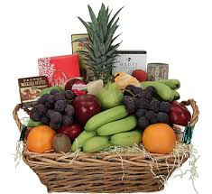 fruit gourmet basket