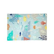 area rugs round 8 ft under the sea rug crate and barrel
