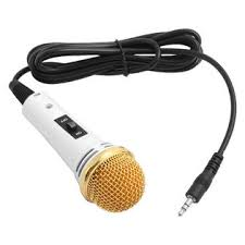 unique bargains mini jack 3 5mm studio wired handheld microphone unique bargains mini jack 3 5mm studio wired handheld microphone white for phone karaoke tvs electronics computers laptops computer accessories