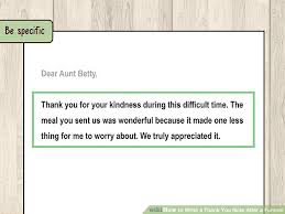 Thank You Note After Funeral To Coworkers How To Write A Thank You Note After A Funeral 11 Steps
