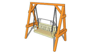 Small Picture Garden Swing Plans YouTube