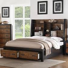 california king bed headboard. La Foto Se Está Cargando Master-Bedroom-Queen-Cal-King-Bed-Headboard -Drawers- California King Bed Headboard H