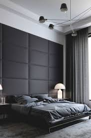 Small Picture Black Wall Ideas Minimal Interiors and Bedrooms