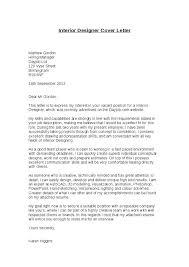 design cover letter samples interior designer cover letter for resume cover letter for