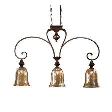 get ations uttermost 21051 3 light kitchen island fixture from the elba collection